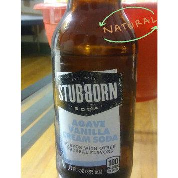 Photo of Stubborn Soda™ Agave Vanilla Cream Soda 12 fl. oz. Glass Bottle uploaded by Jessica K.