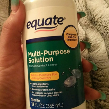 Photo of Equate Sterile Multipurpose Solution 4 Fl Oz uploaded by Maggie T.