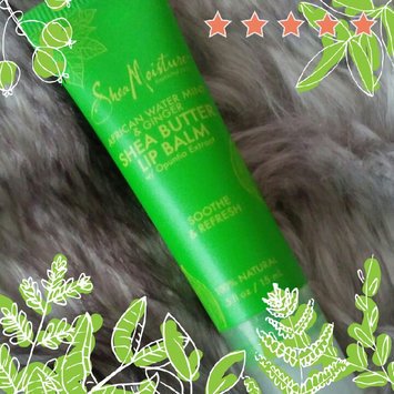 Photo of SheaMoisture African Water Mint & Ginger Shea Butter Lip Balm uploaded by Tamise J.