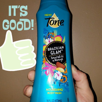 Tone® Brazilian Glam™ Brazil Nut Oil & Maracuja Nourishing Body Wash 16 fl. oz. Bottle uploaded by Amanda C.