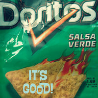 Doritos Salsa Verde Tortilla Chips uploaded by Erica S.
