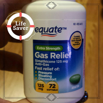 Photo of Equate - Gas Relief, Extra Strength, Simethicone 125 mg, 72 Softgels, Compare to Gas-X uploaded by Bev M.