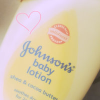 Johnson's Shea & Cocoa Butter Baby Lotion uploaded by Crissy L.