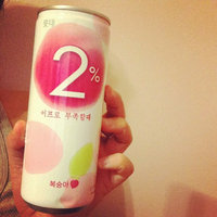 Lotte 2% Peach 240ml 6-pack X 2 ( Total 12 Cans) uploaded by Janice F.