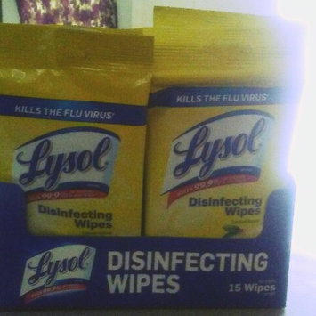 Lysol Disinfecting Wipes - Lemon uploaded by BRANDY R.