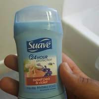 Suave® Sweet Pea & Violet Invisible Solid Anti-Perspirant Deodorant uploaded by Gina P.