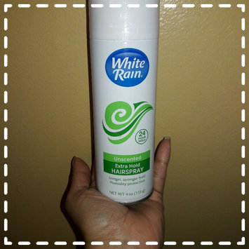 White Rain® Unscented Extra Hold Hair Spray 7 oz. Aerosol Can uploaded by Andrea M.