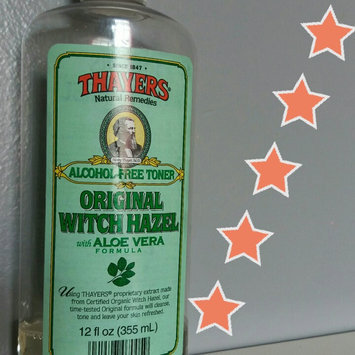 Thayers Original Witch Hazel Astringent with Aloe Vera uploaded by Miracle T.