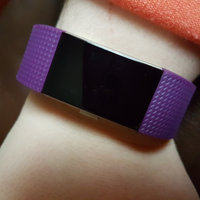 Fitbit Charge 2 Heart Rate and Fitness Wristband uploaded by heather r.