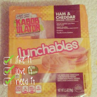 Oscar Mayer Lunchables Lunch Combinations Ham + Cheddar Cracker Stackers uploaded by Jessica D.