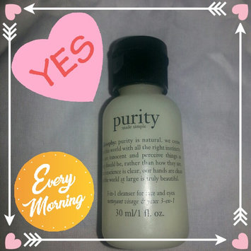 philosophy purity made simple one-step facial cleanser uploaded by Shalayna G.
