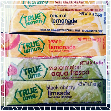 Photo of True Citrus True Lemon Water Enhancer Mix Peach Lemonade 10 Packets uploaded by Melissa B.