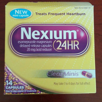 Photo of Nexium 24HR Capsules - 14 Count uploaded by Melissa B.