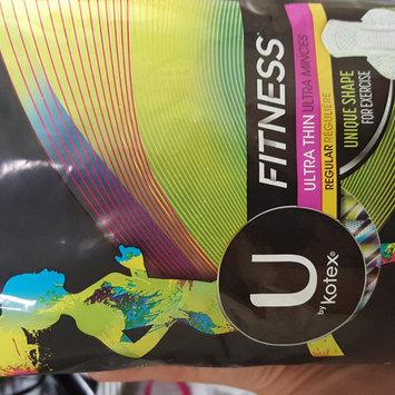 Photo of U by Kotex® Fitness* Ultra Thin Pads Regular uploaded by Nikki R.