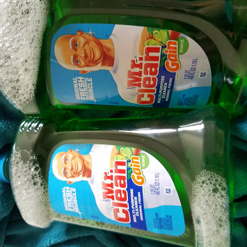 Photo of Mr Clean with Gain Original Fresh Scent Multi Surface Liquid 40 Fl Oz uploaded by LaChandra J.
