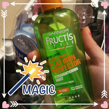 Garnier Fructis Style Sleek & Shine Flat Iron Perfector Straightening Mist 24 Hr Finish uploaded by Gabriela O.