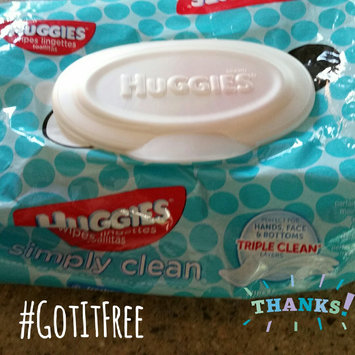 Photo of Huggies® Simply Clean Baby Wipes uploaded by Sabrina K.