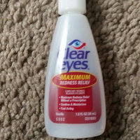 Clear Eyes Lubricant/Redness Reliever Eye Drops Maximum Redness Relief uploaded by amanda h.