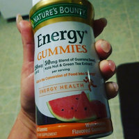 Nature's Bounty® Energy Gummies uploaded by Sayde F.