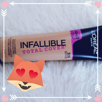 L'Oreal Infallible Total Cover Foundation uploaded by Cindy C.