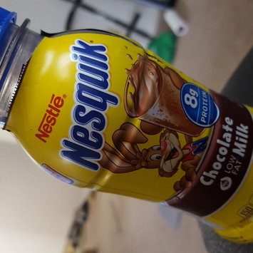 Photo of Nesquik® Chocolate Ready-to-Drink Fat Free Milk uploaded by Alisha B.