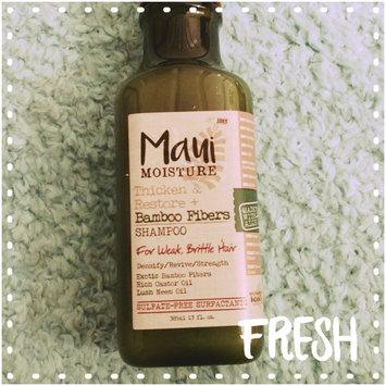Photo of Maui Moisture Thicken & Restore Bamboo Fibers Shampoo uploaded by Adri K.