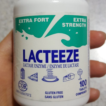 Photo of Lacteeze Lactase Enzyme Chewable Tablets uploaded by Carly C.
