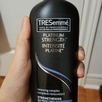 Photo of TRESemmé Platinum Strength Strengthening Heat Protect Spray uploaded by Carly C.