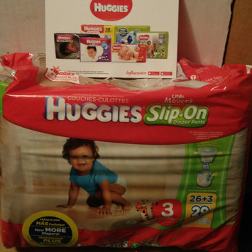 Huggies® Little Movers Slip-On Diaper Pants uploaded by Morgan B.