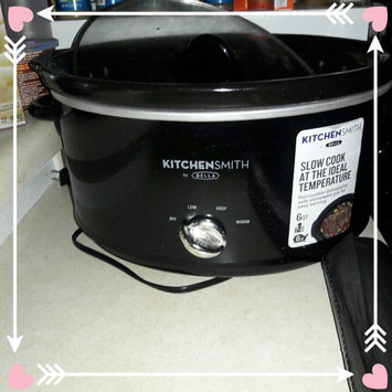 Kitchen Smith by Bella 6QT Manual Slow Cooker, Black uploaded by Andrea M.