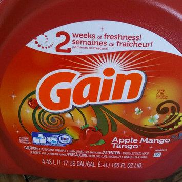 Photo of Gain with FreshLock Apple Mango Tango Liquid Detergent 150 fl. oz. uploaded by Ashley M.