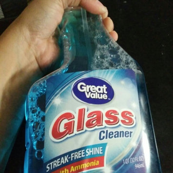 Photo of Great Value Original Streak-Free Glass Cleaner, 32 fl oz uploaded by Katey R.