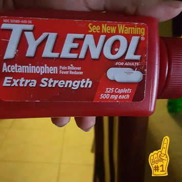 Photo of Tylenol Extra Strength Acetaminophen 500 Mg 325 Caplets uploaded by Yanna V.