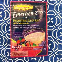 Emergen-C Emergen-zzzz Nighttime Sleep Aid with Melatonin, Mellow Berry uploaded by Amber S.