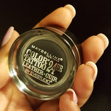 Maybelline Eyestudio® ColorTattoo® Leather 24 Hour Cream Gel Eye Shadow uploaded by Jasmine B.