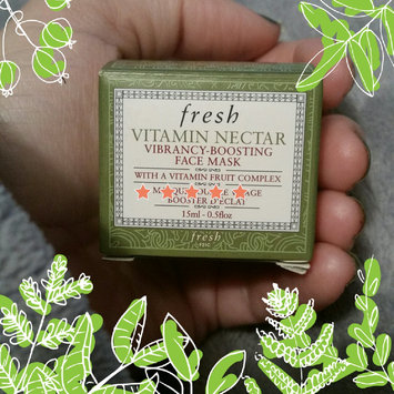 Fresh Vitamin Nectar Vibrancy-Boosting Face Mask 3.3 oz uploaded by Nicki S.