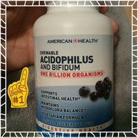 American Health Acidophilus and Bifidus Chewable Blueberry 100 Wafers uploaded by Nicki S.