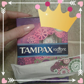 Photo of Tampax Radiant Plastic Super Absorbency Tampons uploaded by Tiffany T.
