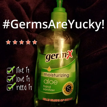 Photo of Germ-X Hand Sanitizer, 15 fl oz uploaded by Amanda F.