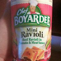 Chef Boyardee Mini Ravioli uploaded by Leslie V.