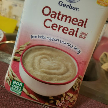 Photo uploaded to Gerber® Oatmeal Cereal 8 oz. Canister by Esmeralda C.