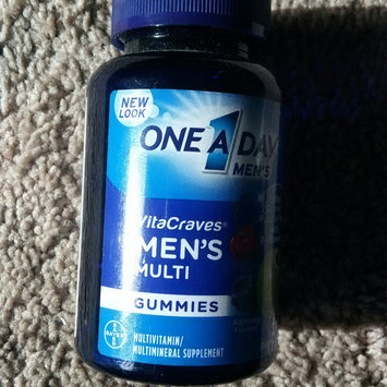 One A Day VitaCraves Men's Multivitamin Gummies, Fruit, 70 ea uploaded by amanda h.
