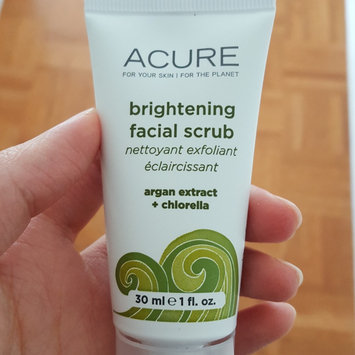 Acure Brightening Facial Scrub uploaded by Carly C.