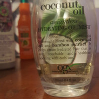 OGX® Coconut Oil Weightless Hydrating Oil Mist uploaded by Adri M.