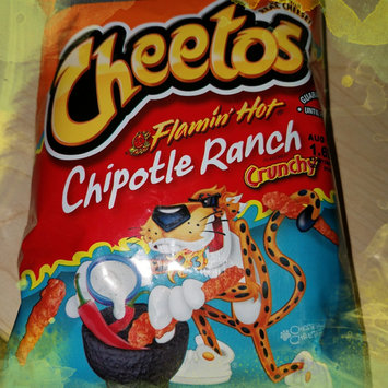 Cheetos Flamin' Hot Crunchy Cheese Flavored Snacks uploaded by Tearra F.