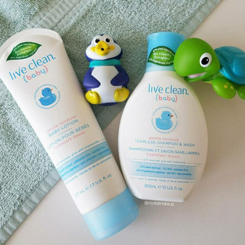 Live Clean® Baby Gentle Moisture Tearless Shampoo & Wash uploaded by Crystal H.