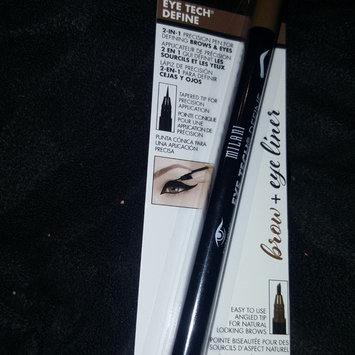 Milani Eye Tech Define 2-in-1 Brow + Eyeliner Felt-Tip Pen, Black / Natural Taupe uploaded by Marcia G.
