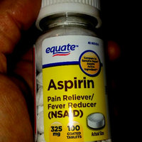 Equate Aspirin Tablets 325 Mg Pain Reliever/Fever Reducer 100 Ct uploaded by Christy M.