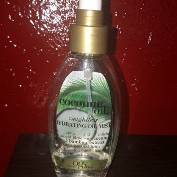 OGX® Coconut Oil Weightless Hydrating Oil Mist uploaded by Breanna G.