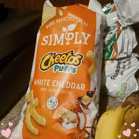 Cheetos Natural White Cheddar Puffs Cheese-Flavored Snacks uploaded by Anna M.